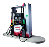 Launched the world's first fuel dispenser with a vapor recovery system Sunny NX D70