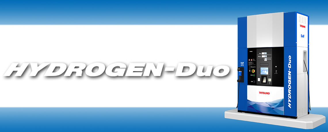 HYDROGEN-Duo Hydrogen Dispenser US market Model