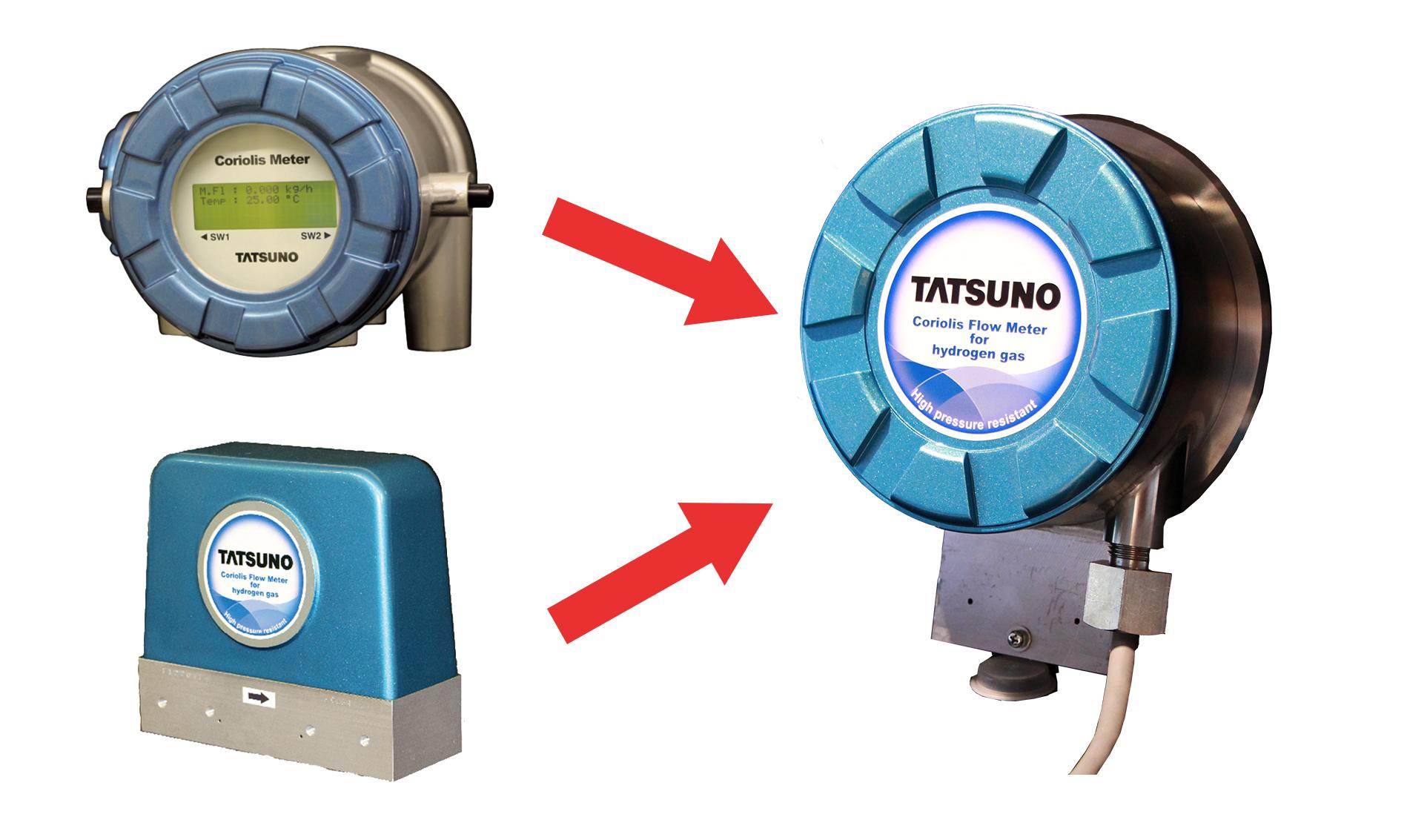 水素用コリオリ流量計の特徴