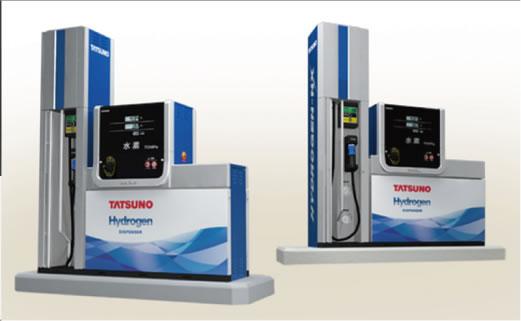 HYDROGEN-NX Hydrogen Dispenser Japanese-market Modelの特徴